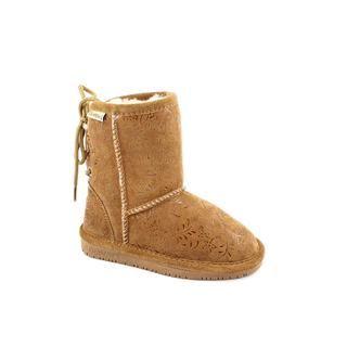 Bearpaw Girls Ellie Regular Suede Boots