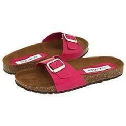 Steve Madden Lebra Magenta Patent Sandals
