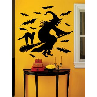 Martha Stewart 19 piece Witch Vinyl Wall Decal