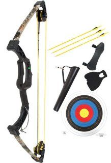 Martin Archery Camo Tiger Compound Bow Set Sports