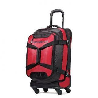 Samsonite Luggage Maneuver Spinner Duffel, Red/Black, 22
