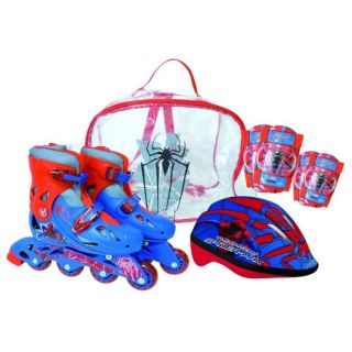 Rollers En Ligne T34/37+ Protections   Spider Man   Achat / Vente