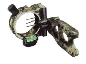 PSE Aries Three .029 Pin Camo Bow Sight, Mossy Oak Breakup