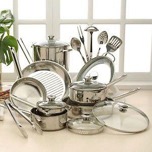 Wolfgang Puck 20 piece Cookware Set