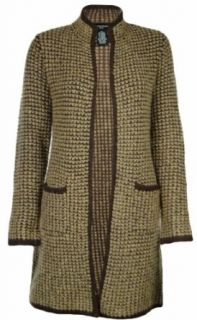 Sutton Studio Womens Wool Long Sweater Coat (Petite Small