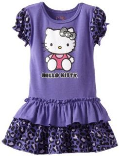 Hello Kitty Baby girls Infant Dress with Cheetah Print