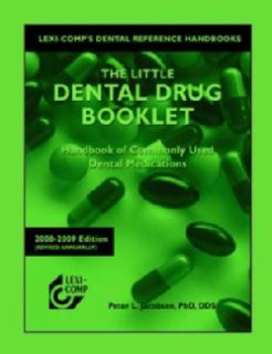 The Little Dental Drug Booklet 2008 2009 (Paperback)