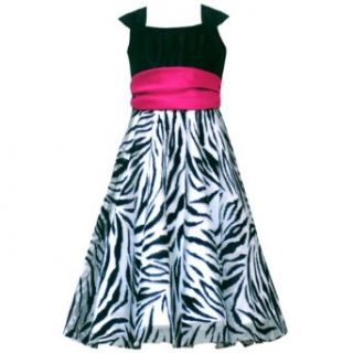 Size 16 RRE 44551F BLACK WHITE PINK ZEBRA ANIMAL PRINT