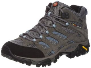 Merrell Lady Moab Mid GORE TEX Waterproof Walking Boots Shoes