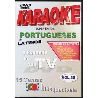 Titres Portugais   Titre  DVD Karaoké Portugais Super Exitos Vol.36