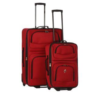Vista Red 2 piece Luggage Set (21 inch & 28 inch)
