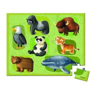 JANOD   Puzzle 36 pièces   Lovely Puzzle  Animaux en danger_x000D