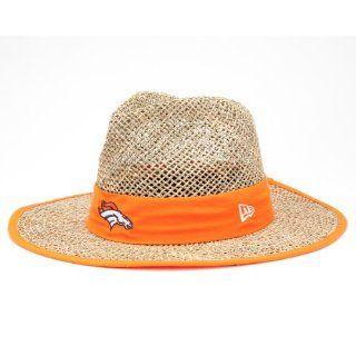 NFL Denver Broncos Training Camp Straw Hat, Tan, One Size