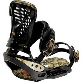 Burton 2009 Triad EST Black/ Gold Large Bindings