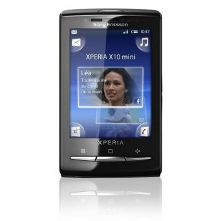 Sony Ericsson XPERIA X10 Mini Noir + Coques Rose e   Achat / Vente