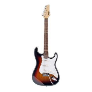 Legacy Solid Body Electric Guitar, Sunburst Musical