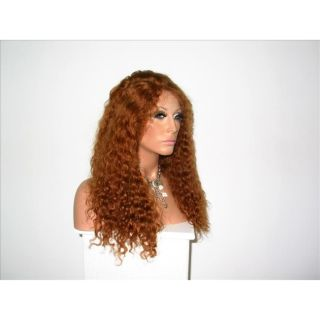 Star Flow Light Auburn Full Lace 18 inch Human Hair Wig