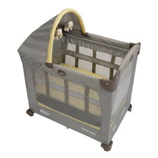 Graco Travel Lite Crib with Stages in Peyton