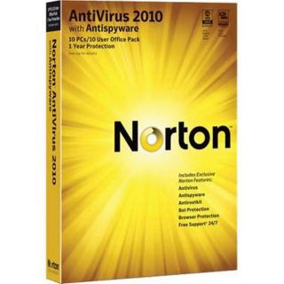 Windows 10 user Symantec Norton AntiVirus 2010