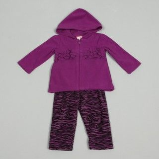 Baby Togs Infant Girls Jacket and Legging Set