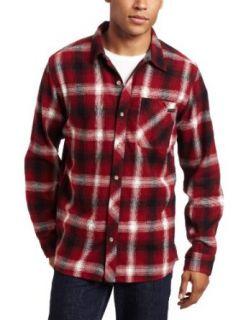Quiksilver Young Mens Fog Woven Regular Fit Shirt, Rich
