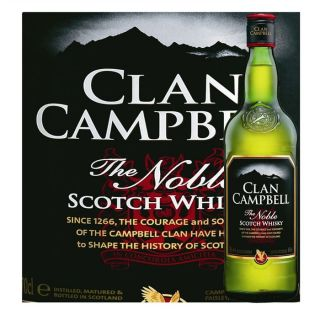 Clan Campbell The Noble (70cl)   Achat / Vente Clan Campbell The Noble