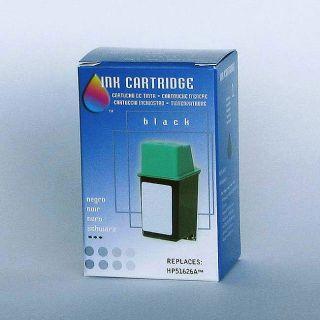 HP 26 Black Inkjet Print Cartridge (Remanufactured)