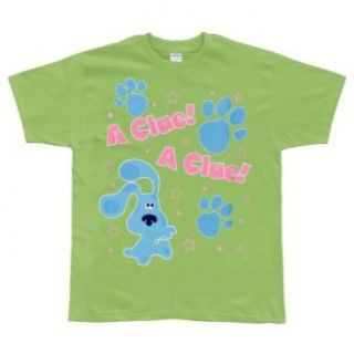 Blues Clues   A Clue Light Green Youth T Shirt   Large (14