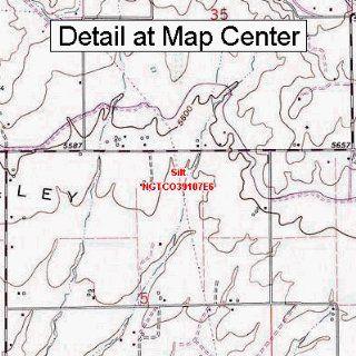 USGS Topographic Quadrangle Map   Silt, Colorado (Folded