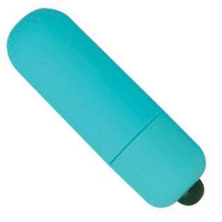 Hidden Flower Blue Velvet Touch Bullet Vibrator