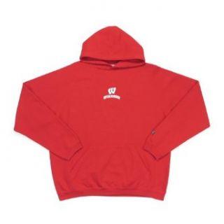 Antigua Wisconsin Goalie Long Sleeve Hooded Sweatshirt (XX
