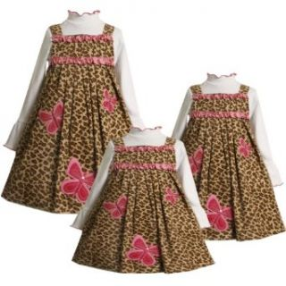 Size 24M BNJ 9997B 2 Piece BROWN PINK SEQUIN BUTTERFLY