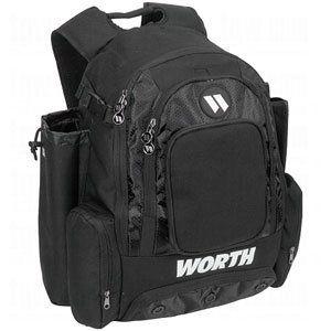 Worth Comrade Backpack Bag (Black)