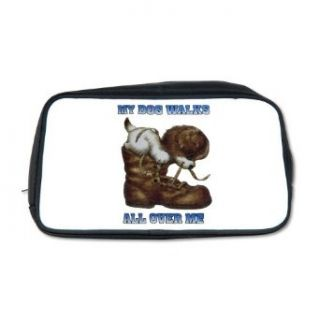 Artsmith, Inc. Toiletry Travel Bag My Dog Walks All Over