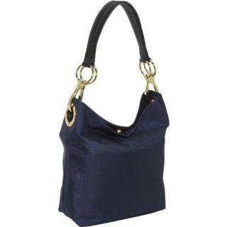 JPK Paris Bucket Nylon Shoulder Bag,Navy,one size Shoes