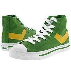 Pony Shooter 78 High W Online Lime/Spectra Yellow/White Athletic