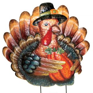 PD Home & Garden 29 inch Thanksgiving Turkey Yard Decor