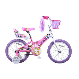 Titan Flower Princess 16 inch Pink BMX Bike