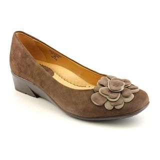 Earth Womens Brushcherry Regular Suede Dress Shoes