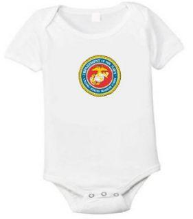 Usmc United States Marine Baby One Piece T shirt Size 6