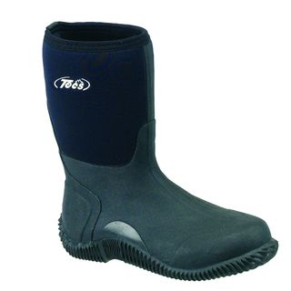 Tecs Mens 12 inch Black Pac Boot