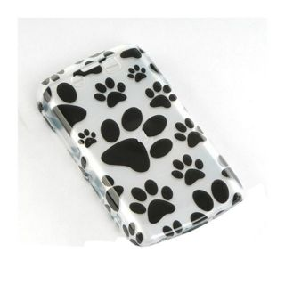 BlackBerry Storm II 9550 Dog Paws Design Crystal Case
