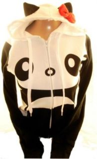 Hello Kitty Ladies Hoodie   Dont Be a Sad Panda on