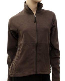 Berghaus Womens Micro Fleece Brown Jacket UK Size 14