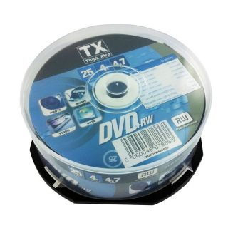 Tx DVDTX47C25+RW   Achat / Vente CD   DVD   BLU RAY VIERGE Tx