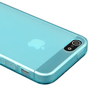 BasAcc Frost Clear Light Blue TPU Case for Apple iPhone 5