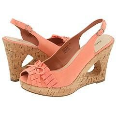 Zigi NY Pamela Coral Fabric Sandals