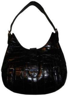 Womens Ralph Lauren Purse Handbag Acadian Hobo Black