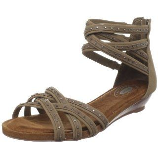 Dr. Scholls Womens Lunge Sandal,Taupe,5 M US: Shoes