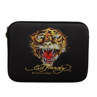 Ed Hardy Rhinestone Tiger 13 inch Laptop Sleeve